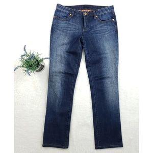 Tory Burch Super Skinny Dark Medium Wash Jeans